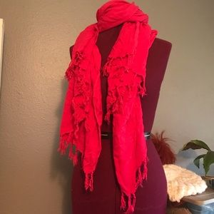 Pink Large Lightweight Scarf
